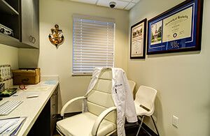 Consultation Room at Dr. Bob Pediatric Dentistry in South Miami, Florida