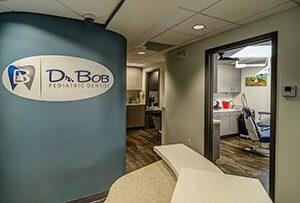 Front Office Logo at Dr. Bob Pediatric Dentistry in South Miami, Florida
