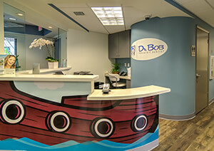 Front Desk at Dr. Bob Pediatric Dentistry in South Miami, Florida