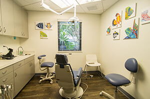More Treatment rooms at Dr. Bob Pediatric Dentistry in South Miami, Florida